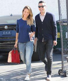 Jessica Alba and Cash Warren - In Beverly Hills. (February 5, 2015)