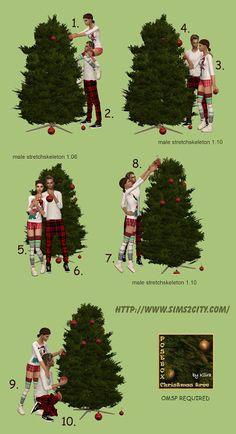 Sims2City: Christmas Tree Posebox