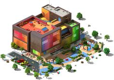 Real World Buildings: Timed Quests - Megapolis Wiki-Youth Charity Center