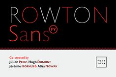 Rowton FY Family by FONTYOU on Creative Market