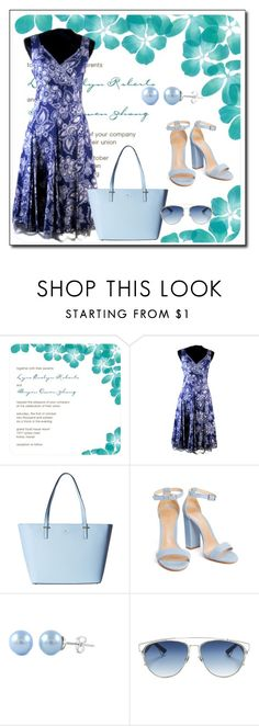 """""""EuropeanRetroFashion 4"""" by azra-90 ❤ liked on Polyvore featuring Kate Spade and Christian Dior"""