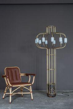 Luminaires design Lampadaire Chandelier (Collection Particulière)