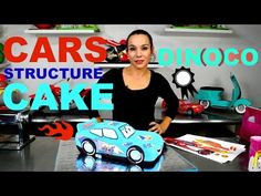 Hello everyone ! WELCOME TO MY STUDIO Thanks for watching! Scroll down for recipe info: Today I'll show you how to make a blue Dinoco Lightning Mcqueen Struc...
