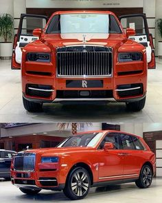 Orange RR Anyone ? Rolls Royce Black, Royce Car, Vintage Rolls Royce, Rolls Royce Cullinan, Luxury Suv, Luxury Life, Best Muscle Cars, Old Classic Cars, Expensive Cars