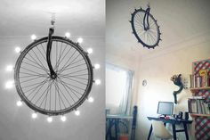 what an awesome DIY lamp! #decor #cool