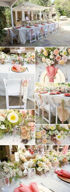 This is the overall feel I like, neutrals with greenery and some pops of pink in the flowers