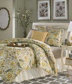 Amethyst Pillow Top Mattress Garden Images III Magnolia Floral Comforter Bedding   Gardens, Happy ...