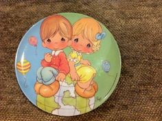 Vintage Sam B Gibson Plastic Precious Moments Child's Plate Ikea Design, Stainless Steel Bowl, Native American Art, Precious Moments, Nativity, Decorative Plates, Plastic, In This Moment, Ebay