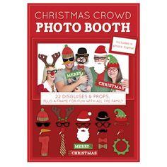 Christmas Crowd Photobooth Kit - Secret Santa Gifts - Stocking Fillers - Christmas