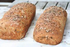Veckansmiddag   Rågbröd med rosmarin o havsalt
