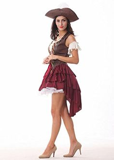 Sexy Swashbuckler Costume Halloween Costumes Pirate Women Adult Games Erotic Dress - Click image twice for more info - See a larger selection womens  pirate costume at  http://costumeriver.com/product-category/womens-pirate-costume/ - womens, holiday costume , event costume , halloween costume, cosplay costume, classic costume, scary costume, pirate, classic costume, clothing