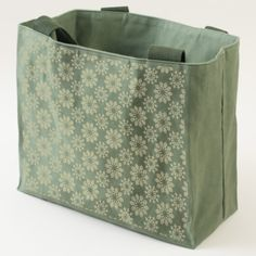 Illustrated Floral Pattern Tote