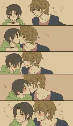 Sekai-ichi Hatsukoi / Yukina x Kisa-- Such a loving couple, and one of my favorites! :)