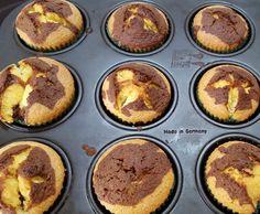 Rezept Eierlikör Marmor Muffins von Teresast. - Rezept der Kategorie Backen süß
