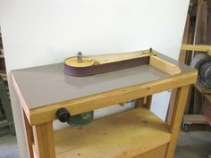 Roger Gallant's edge sander