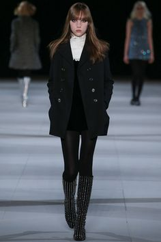 Saint Laurent | Fall 2014 Ready-to-Wear Collection