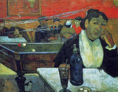 Night Café in Arles is listed (or ranked) 17 on the list List of Famous Paul Gauguin Artwork Paul Gauguin, Impressionist Artists, Impressionism Art, Pierre Auguste Renoir, Vincent Van Gogh, Monet, List Of Paintings, Oil Painting Reproductions, Rembrandt