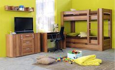 Dětský pokoj Rea uvádíme jako příklad jedné z mnoha sestav. Jednotlivé díly lze vybrat každý zvlášť. Bunk Beds, Furniture, Home Decor, Decoration Home, Loft Beds, Room Decor, Home Furnishings, Home Interior Design, Bunk Bed
