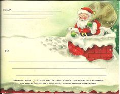Christmas Postcard from Scraptherapy on Face Book