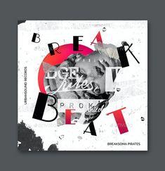 Music Album Cover Art Template PSD