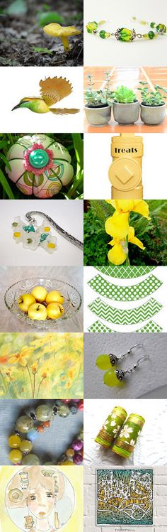 Spring is in the Air by Margie on Etsy--Pinned+with+TreasuryPin.com