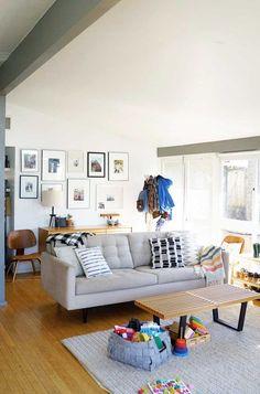 Nelson Bench y Plywood Group LCW de Vitra | Disponible en Manuel Lucas Muebles