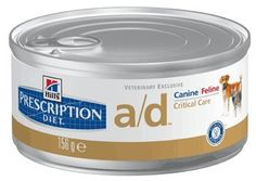 Hill's Prescription Diet a/d K9/Fel Critical Care 24 x 5.5 oz cans -- Want to know more, click on the image.