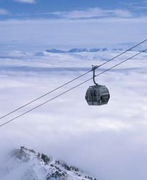 Did you know you can still ride the gondola in the summer in Mammoth Lakes?