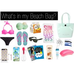 beach bag essentials, what to bring to the beach, beach must haves ...