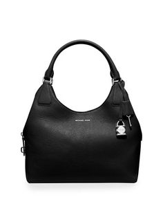 Camile Large Shoulder Bag, Black by MICHAEL Michael Kors at Neiman Marcus.