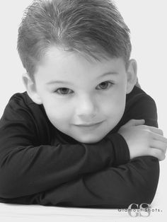 Black and white portrait! What a cutie! #GlamourShots
