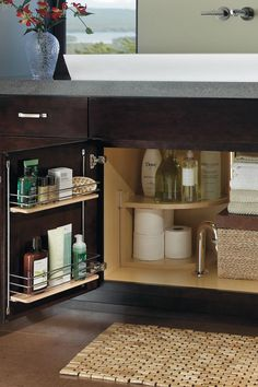 Vanity Sink Base Super Cabinet - Diamond Cabinetry