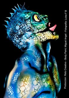 Miguel Angel colombia Body painter