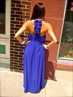 Love the back and the color.