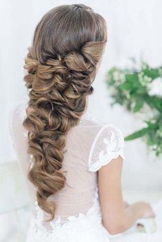 Art4studio long wedding hairstyles #weddings #hairstyles #bride #fashion ❤️http://www.deerpearlflowers.com/art4studio-wedding-hairstyles/