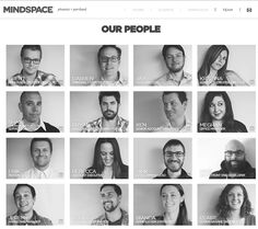 5 Cool and Creative Staff Pages - 'Net Features - Website Magazine Business Portrait, Corporate Portrait, Corporate Headshots, Team Photography, Corporate Photography, Photography Business, Portrait Photography, Corporate Fotografie, Yearbook Layouts