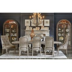Furniture Inc Arch Salvage Formal Dining Room Group At Johnny Janosik