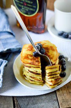 Coconut Flour Pancakes. http://ditchthewheat.com/coconut-flour-pancakes/