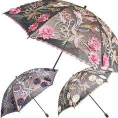 New Elegant Embroidery lace Folding Anti UV Sun Rain Parasol Women Umbrellas #ZUIMEI #TwofoldingumbrellaParasol