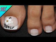 Toe Nail Color, Toe Nail Art, Pedicure Designs, Toe Nail Designs, Cute Pedicures, Manicure, Minimalist Nails, Feet Care, French Nails