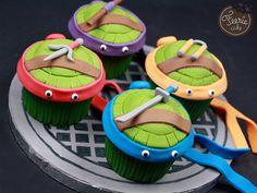 Cupcakes Tortues Ninja - Féerie cakeFéerie cake