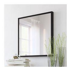 Stave espejo efecto roble tinte blanco roble tinte blanco for Miroir horizontal ikea