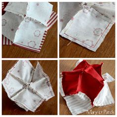 Maryandpatch, How to / patchwork / Five pointed star pincushion / Tutorial Quilt Patterns, Sewing Patterns, Pincushion Tutorial, Five Pointed Star, Small Sewing Projects, Sewing Class, Embroidery Techniques, Pin Cushions, Quilting Projects