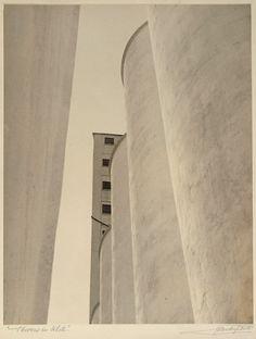 John Vanderpant (1894 - 1939) No.2, Towers in White  around 1934 © 2011 Art G.o.Ontario