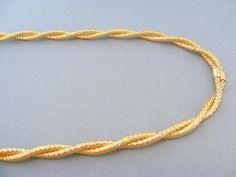 Dvojitá naťahovacia dámsky retiazka žlté zlato