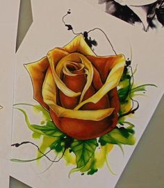@atomic.amy has time available on Saturday February 27th and would love to do this golden rose! Give us a shout at info@atomiczombie.net if you'd like to take it!