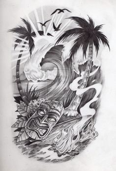 Tropical black & white