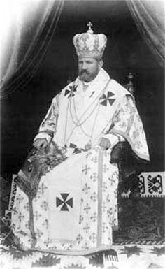 Metropolitan Andrei Sheptytsky.