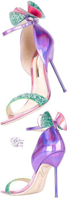 Brilliant Luxury   ♦ Sophia Webster Maya Sandals