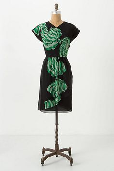Ribboning Mini Dress #anthropologie